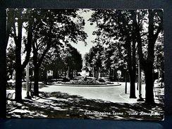 (FG.A51) SALSOMAGGIORE TERME - VIALE ROMAGNOSI E MONUMENTO (PARMA) VIAGGIATA 1958 - Parma