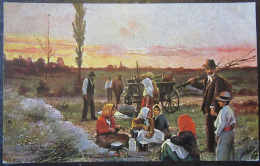 CPA Raphael Tuck Série Oilette N°560 B - Illustration Couleur - Voyageurs Ramassant Du Bois - Non-circulée - Fantaisies