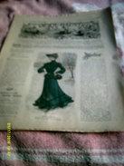 Journal De Famille La Mode Illustrée  No 51 ( Avec Planche De Patrons)  De 43em  Année  Le 21  Dec 1902  6 Pages - Mode
