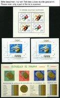 SPORT **, Kleiner Karton Mit Fast Nur Olympische Spiele Tokyo 1964, Blocks, Kleinbogen Und Paare In Unterschiedlichen Me - Stamps