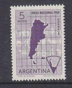 Argentina 1960 Antarctica / National Census 1v ** Mnh (37167C) - Argentinië