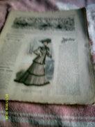 Journal De Famille La Mode Illustrée  No 49 ( Avec Planche De Patrons)  De 43em  Année  Le 7  Dec 1902  8 Pages - Mode