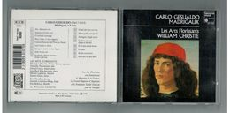 CD   Madrigaux De Carlo Gesualdo - Les Arts Florissants - William Christie - Classical