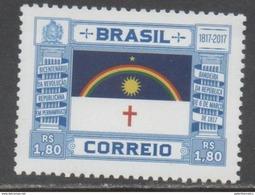 BRAZIL, 2017, MNH, BICENTENARY OF PERNAMBUCO REVOLUTION,1v - Other