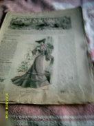 Journal De Famille La Mode Illustrée  No 47 ( Avec Planche De Patrons)  De 43em  Année  Le 23 Nov 1902  6 Pages - Mode