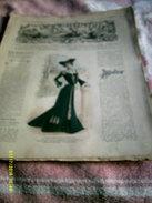 Journal De Famille La Mode Illustrée  No 46 ( Avec Planche De Patrons)  De 43em  Année  Le 16 Nov 1902  8 Pages - Mode