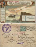 BANCA BANCO NAPOLI 1915 POSTA MILITARE BATTERIA MONTAGNA - Banche
