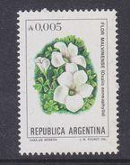 Argentina 1982 Flor Malvinas / Flowers Of The Falkland Islands 1v ** Mnh (37169) - Ongebruikt