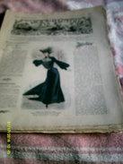 Journal De Famille La Mode Illustrée  No 42 ( Avec Planche De Patrons)  De 43em  Année  Le 19 Oct 1902  6 Pages - Mode