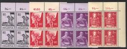 Historische Bilder 1958/59: Zu 339-342 Mi 683-686 Yv 612-615 ** MNH Postgültig - Valable - Valid (SBK CHF 80.00) - Suisse