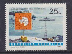 Argentina 1972 Antarctic Treaty 1v ** Mnh (37171) - Neufs