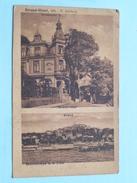STRAND-HOTEL, Inh. H. Ahrberg BALKENESE A. D. Elbe ( 79 658 M. Glückstadt & Münden ) Anno 1922 ( Details Zie Foto's ) ! - Blankenese