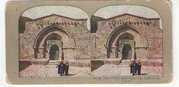 "Vue Stéréo/Palestine/JERUSALEM/""The Church Built Over The Tomb Of The Virgin""/Tombe De La Vierge/Vers1870-1890     STE83 - Stereo-Photographie"