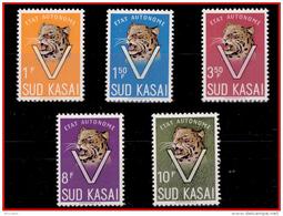 Sud Kasai 0020/24**  Léopard  MNH - South-Kasaï