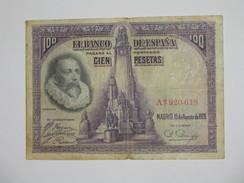 ESPAGNE. 100 Pesetas - Cien Pestas - 15.08.1928  **** EN ACHAT IMMEDIAT **** - [ 1] …-1931 : First Banknotes (Banco De España)