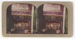 "Vue Stéréo/Palestine/JERUSALEM/""The Manger Where Christ Was Born, As It Is  Today""/La Créche/Vers 1870-1890        STE85 - Stereo-Photographie"