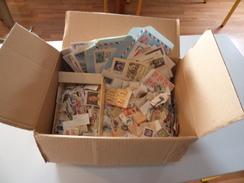 + De 100 Documents, Enveloppes & Des Timbres Par Centaines Sur Fragment, France Et Divers - A Trier - Vrac (max 999 Timbres)