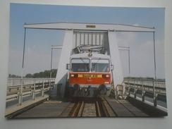 D156272 Train Railway Rail - Hungarian Railways -MÁV-  Bzmot -BAJA - Treni