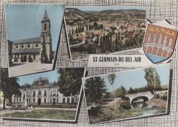 Saint Germain Du Bel-Air 46 - Vues Générales Mairie Pont Sur Le Céou - Unclassified