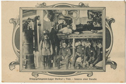WWI French Prisoner Camp Ohrdruf Kriegsgefangenen Lager . Inneres Einer Baracke Edit Stadermann Engesser - Allemagne