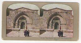 "Vue Stéréoscopique /Palestine/JERUSALEM/""The Church Of The Tomb Of The Virgin""/Tombe De La Vierge/Vers 1870-1890   STE91 - Stereo-Photographie"