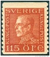ZWEDEN 1921-36 115öre Guataf Bruin Tweerzijdig PF-MNH-NEUF - Neufs