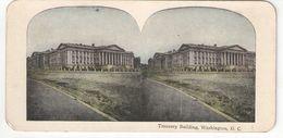 Vue Stéréoscopique /U.S.A./WASHINGTON DC/ Treasury Building /Vers 1870-1890   STE92 - Stereo-Photographie