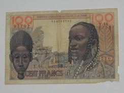100 Francs 1957- TOGO - Institut D'Emission De L'A.O.F Et Du Togo  **** EN ACHAT IMMEDIAT **** - Togo