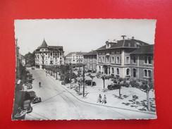 CPA PHOTO 74 ANNEMASSE PLACE HOTEL DE VILLE VOITURES ANCIENNES - Annemasse