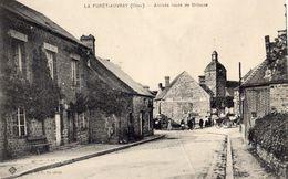 La Foret Auvray  61 -arrivée Route De Briouze - Autres Communes
