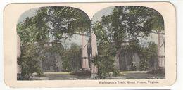 "Vue Stéréoscopique /U.S.A./Virginia/Mount Vernon / ""Washington's Tomb""/Vers 1870-1890   STE95 - Stereo-Photographie"