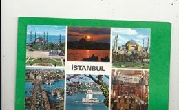 CPM- MULTIVUES D'ISTANBUL . ECRITE AU VERSO - Turquie