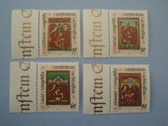 1987 Liechtenstein Yv 871/4 ** Noël Christmas Scott 873/6  Michel 930/3  SG 924/7 - Liechtenstein