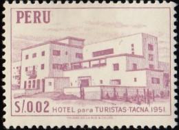 PERU - Scott #457 Tourist Hotel, Tacna / Mint H Stamp - Peru