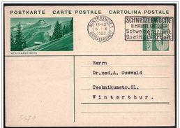 "Svizzera/Switzerland/Suisse: Intero, Stationery, Entier, Leggenda Della ""Les Diablerets"", Légende Des ""Les Diablerets"", - Fiabe, Racconti Popolari & Leggende"