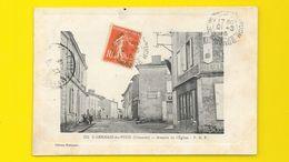St GERMAIN Du PUCH Rare Avenue De L'Eglise (Robineau) Gironde (33) - Autres Communes