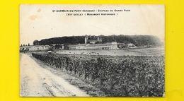 St GERMAIN Du PUCH Rare Château Du Grand Puch () Gironde (33) - Autres Communes