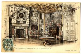 CPA 77 Seine Et Marne Fontainebleau Château Le Salon François 1er - Fontainebleau