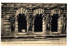CPA 77 Seine Et Marne Fontainebleau Château Grotte Du Jardin Des Pins - Fontainebleau