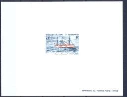Nouvelle Calédonie épreuve De Luxe / Deluxe Proof N° 460 Bateaux Anciens Aviso Kersaint Bateau (boat - Maritime) - Imperforates, Proofs & Errors