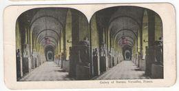 """Vue Stéréoscopique /FRANCE / Chateau De Versailles/"""" Gallery Of Statues"""" /Vers 1880-1890   STE107 - Stereo-Photographie"""
