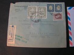 BG Wert Brief Sofia Frankfurt 1929 - 1909-45 Königreich