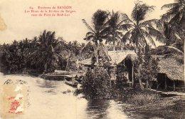 Environs De Saigon Les Rives De La Riviere De Saigon Vues Du Pont De Binh-loi  (LOT 29) - Viêt-Nam
