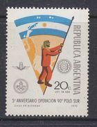 Argentina 1970 Operation Polo Sur / Antarctica / Flag 1v ** Mnh (37178) - Ongebruikt