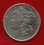 USA 1880 , One Dollar Morgan Münze - Philadelphia - Silbermünze - - 1878-1921: Morgan