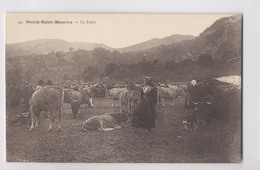 BOURG SAINT MAURICE (73 - Savoie) - La Foire - Animée - Bourg Saint Maurice