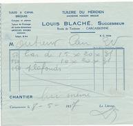 CARCASSONNE - LOUIS BLACHE - TUILERIE DU MERIDIEN - ROUTE DE TOULOUSE - France