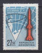 Argentina 1966 Space Rocket / Antarctica 1v ** Mnh (37172B) - Argentinië