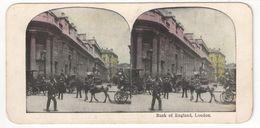"Vue Stéréo/ANGLETERRE/Londres/"" Bank Of England, London /Banque D'Angleterre, Londres / Vers 1880-1890 STE98 - Stereo-Photographie"