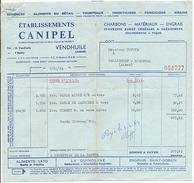 VENDHUILE - Ets CANIPEL - SEMENCES ALIMENTS DU BETAIL TOURTEAUX INSECTICIDES FONGICIDES GRAINS - France